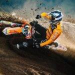 Lukas Neurauter gewinnt das Winter-Motocross in Frankenbach!