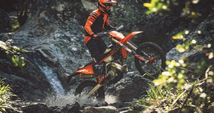 Action KTM 150 EXC TPI MY2020