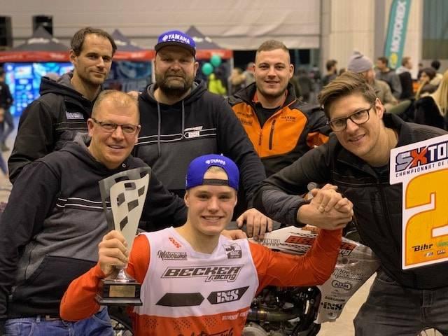 Hakon Fredriksen - Podium Supercross Genf