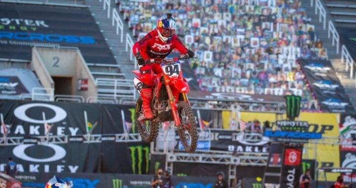 Ken Roczen - AMA Supercross Salt Lake City Rd. 14