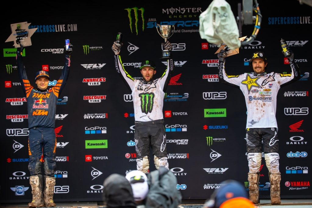 450SX Podium SLC3 - AMA Supercross