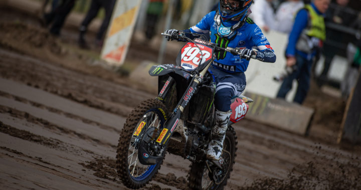 Jago Geerts gewinn KNMV INT MX RACE ARNHEM
