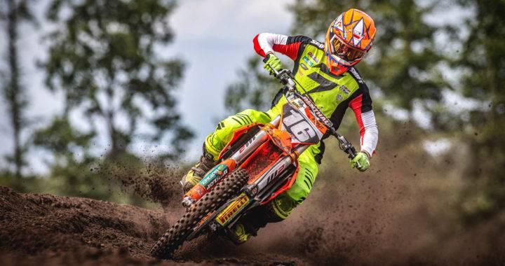 Karlis Sabulis / WZ Racing - Beim Restart der MXGP in Kegums dabei