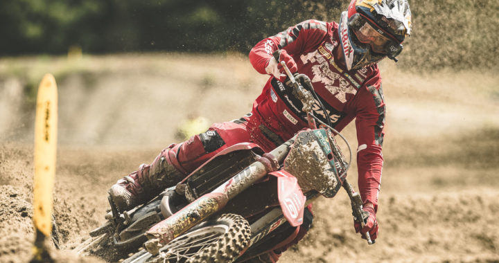 Simon Längenfelder beim KNMV Race Axel