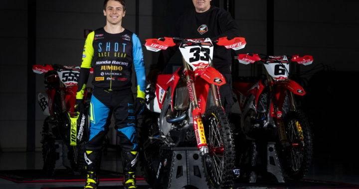 Julien Lieber und Teamchef Jacky Martens