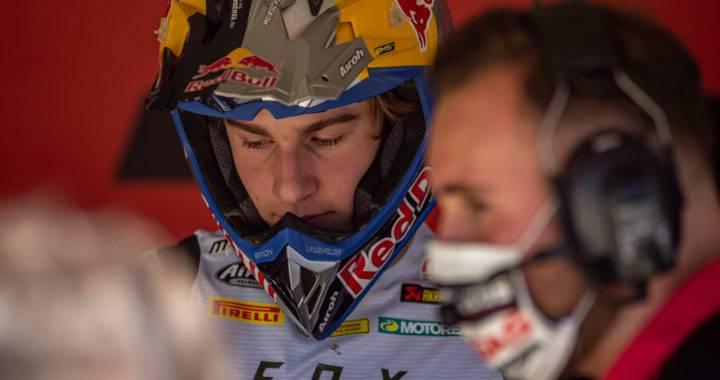 Simon Längenfelderverletzt beim MXGP Faenza 2.0