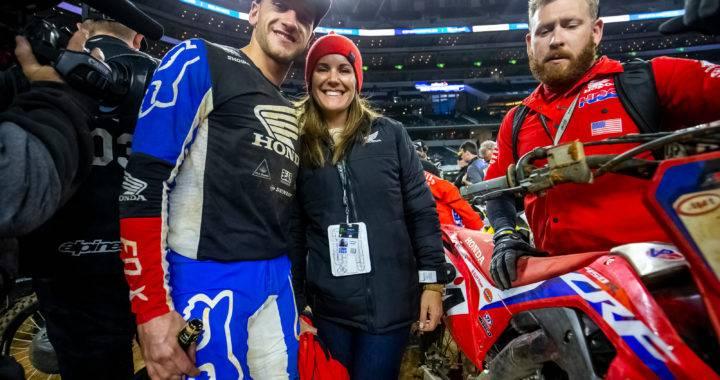 Ken Roczen und seine Frau Courtney im Elternglück