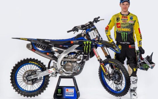 Jeremy Sydow - Hutten Metaal Yamaha Racing