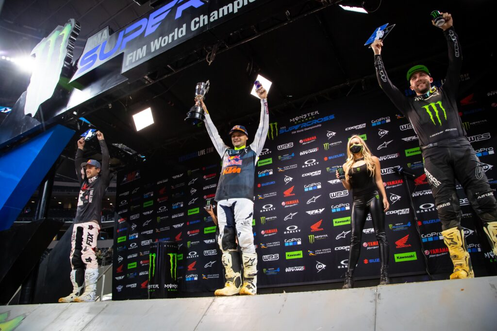 450 SX Podium Arlington 3